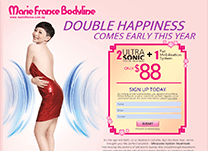 Promo page Marie France January